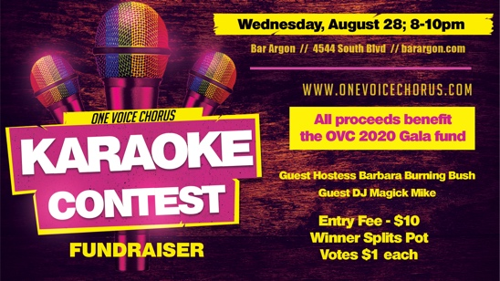 Karaoke Contest and Fundraiser